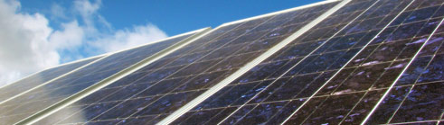 solar-panels-with-blue-sky